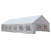 6m x 12m PVC Industrial Grade Marquee Party Tent Inc Ground Frame